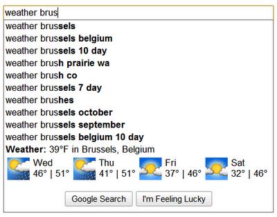 Google og Bing søkeresultater – finn tre feil