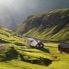 Naturen på Færøyene er nydelig
