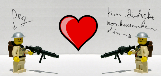 Elsk din fiende (og tjen mer penger)