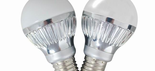 Skift enkelt ut lyspærer med ledpærer