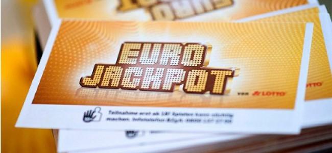 Nordmann med rekordpremie i Eurojackpot
