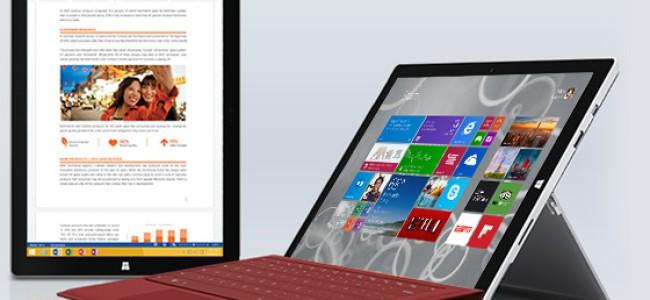 Microsoft Surface Pro 3 – nettbrett