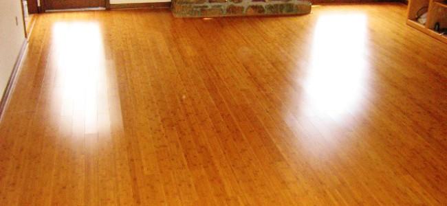 Bambusgulv er slitesterkt og kan slipes