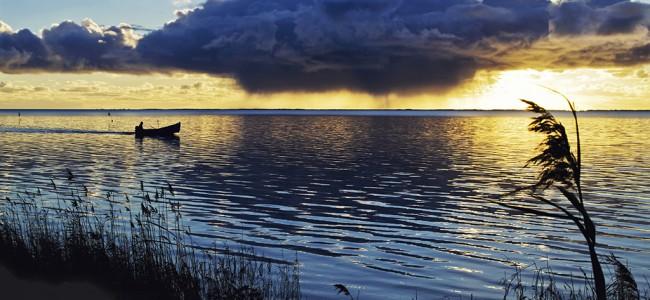 Ringkøbing Fjord gir deilig Vesterhavs-stemning