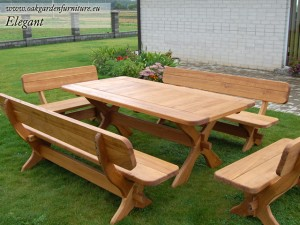 >> Vedlikehold av hagemøbler i tre - slik gjør du det