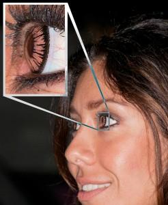 kontaktlinse-kvinne