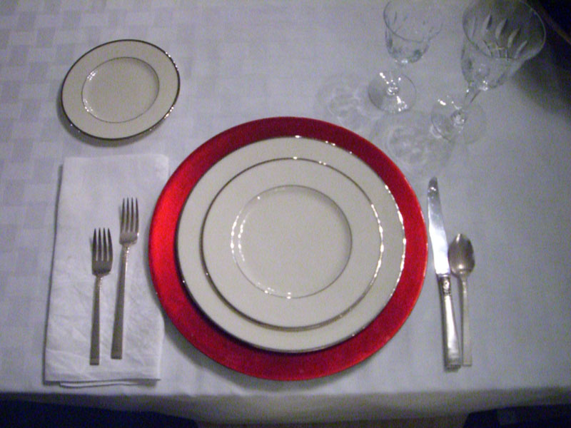 Silver Plate Chargers