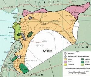 Syria har millioner av flyktninger