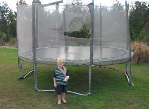 Armbrudd på trampoline