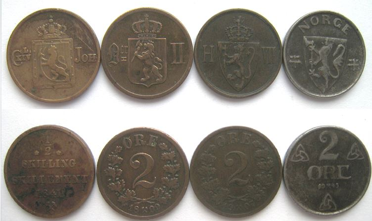 norske-mynter